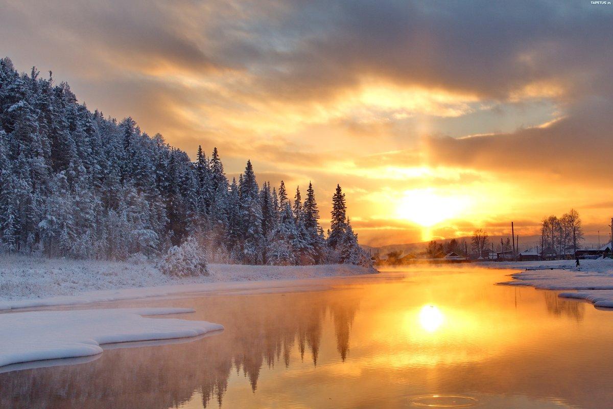 Марта, видео красивые зимние пейзажи