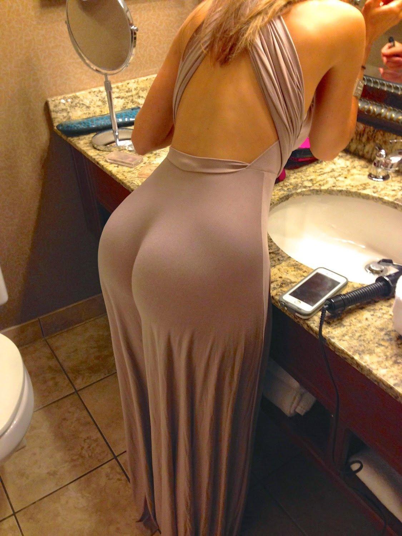 В вечернем платье в попку — 5