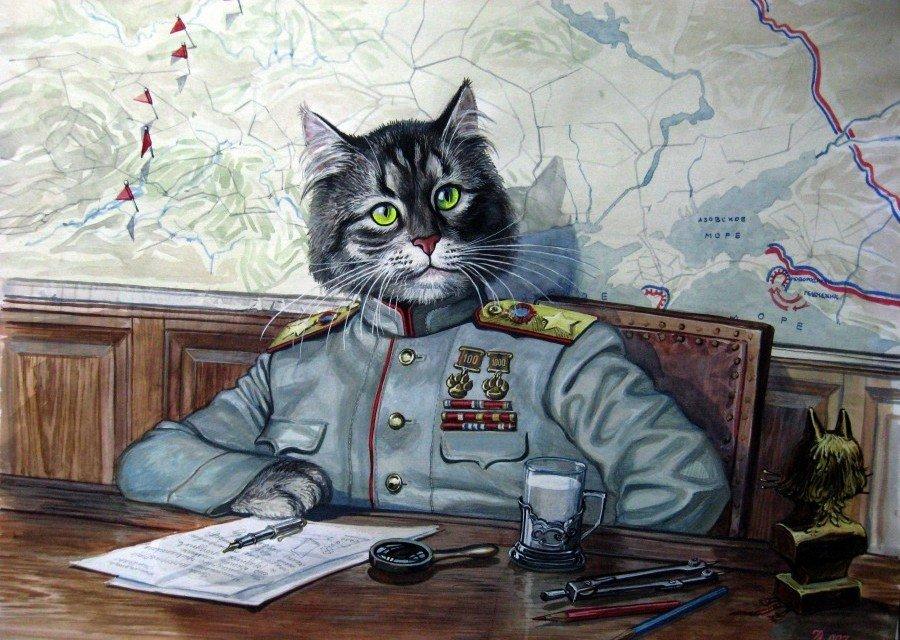 Смешные картинки коты ссср, самой