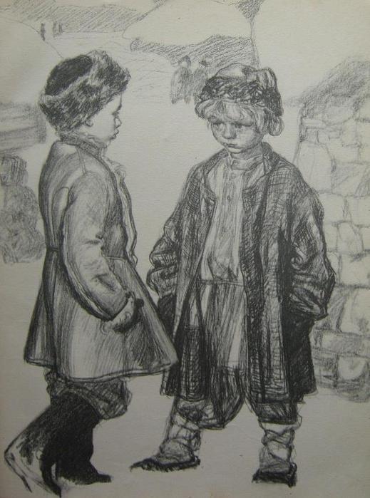 Толстой детство никиты картинки для срисовки