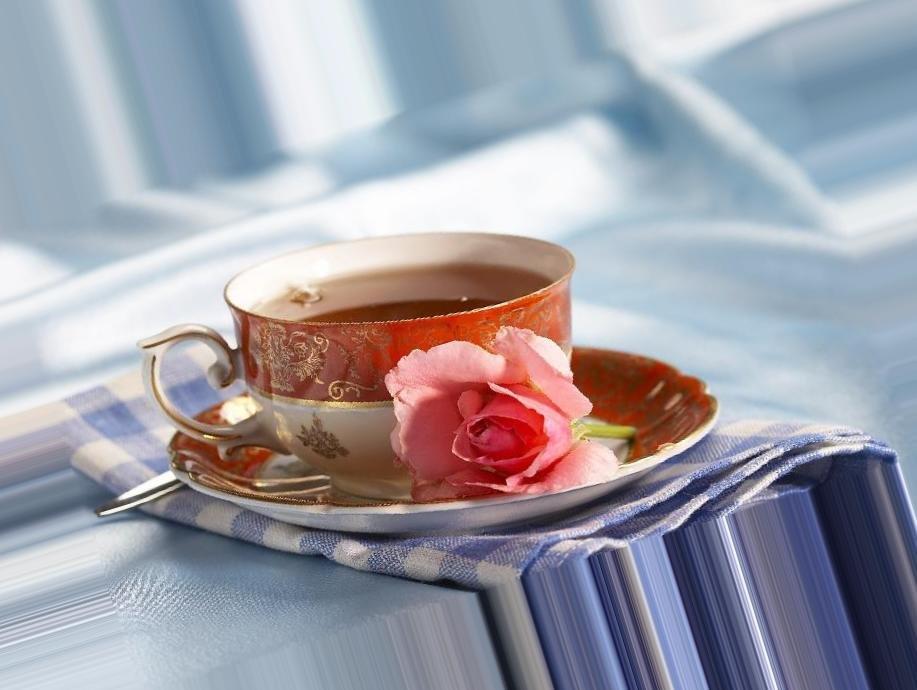 Открытка кофе в постель женщине