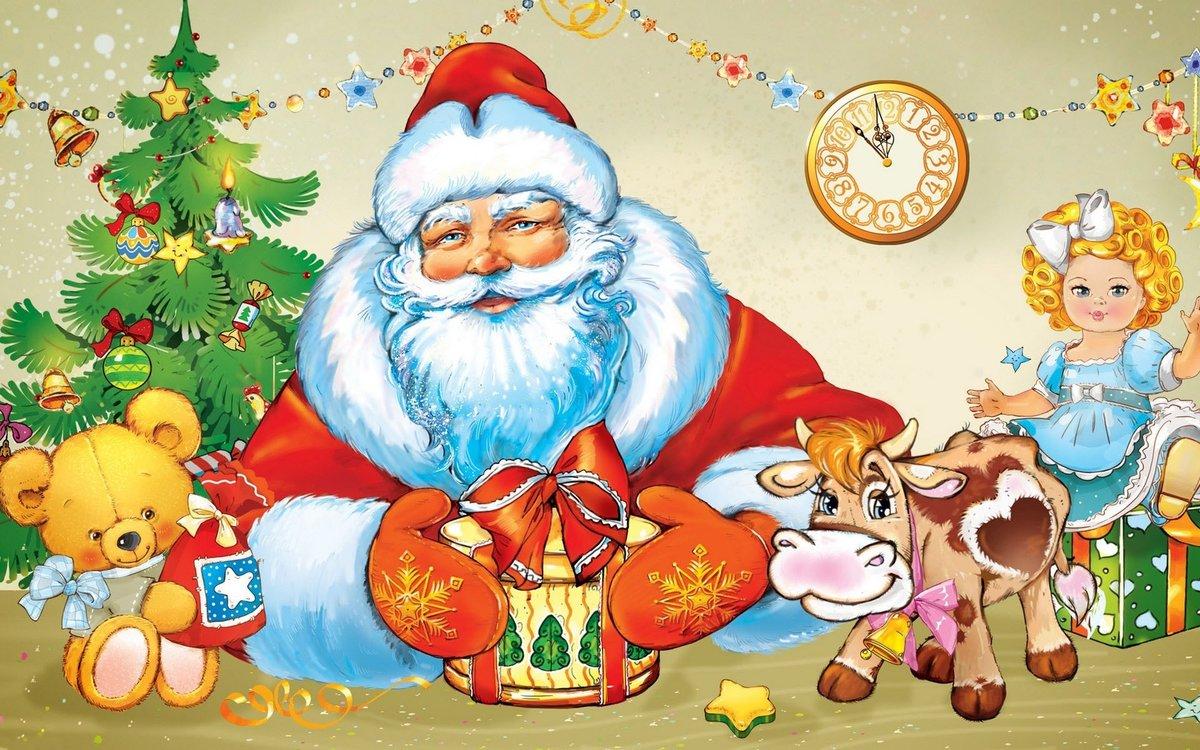 Новый год картинки детские красивые, картинки надписями