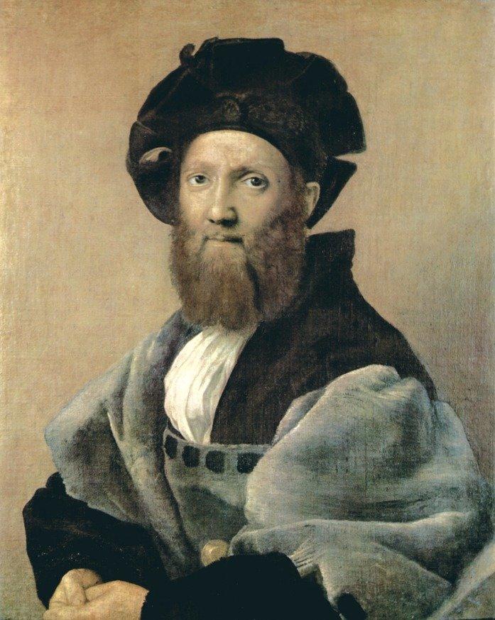Рафаэль. Портрет Бальдассаре Кастильоне. 1514–15. Лувр (Париж)