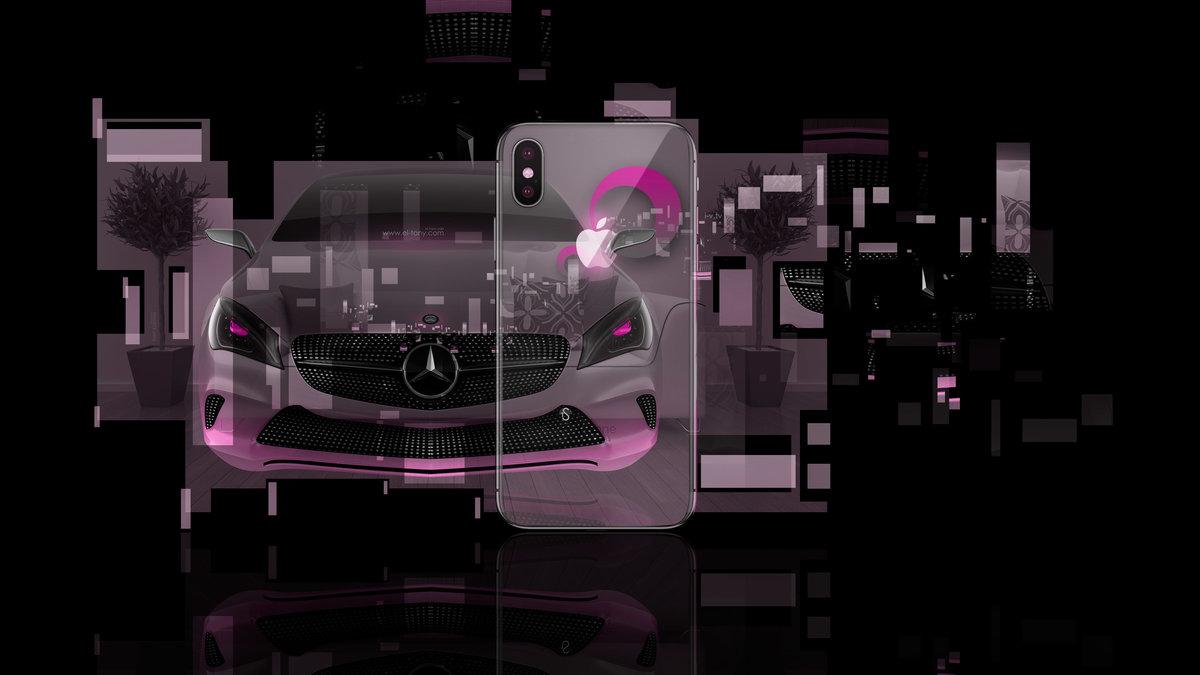 Apple IPhone X AppleTony Back Logo Mercedes Benz