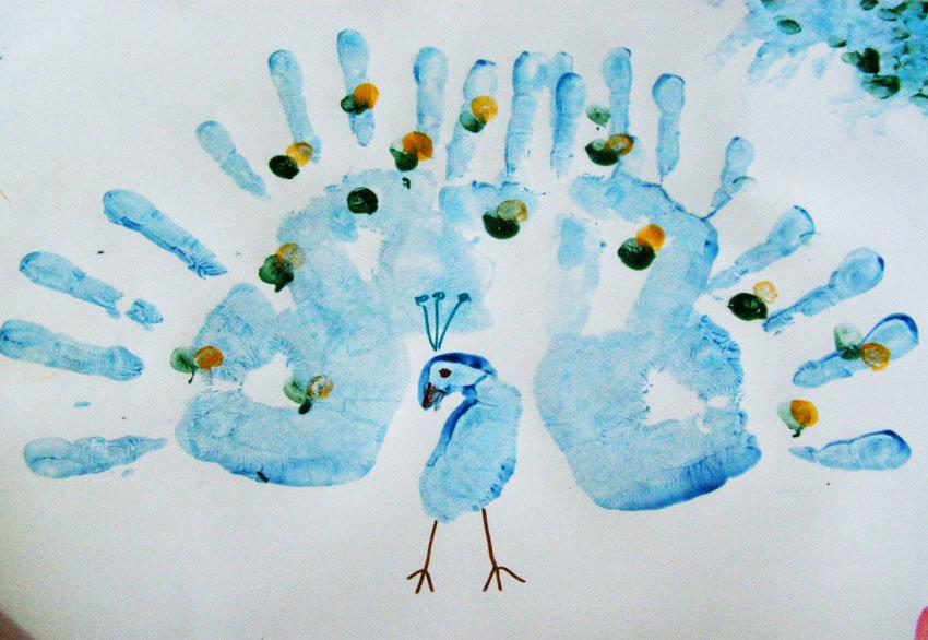 Картинки рисуем пальцами