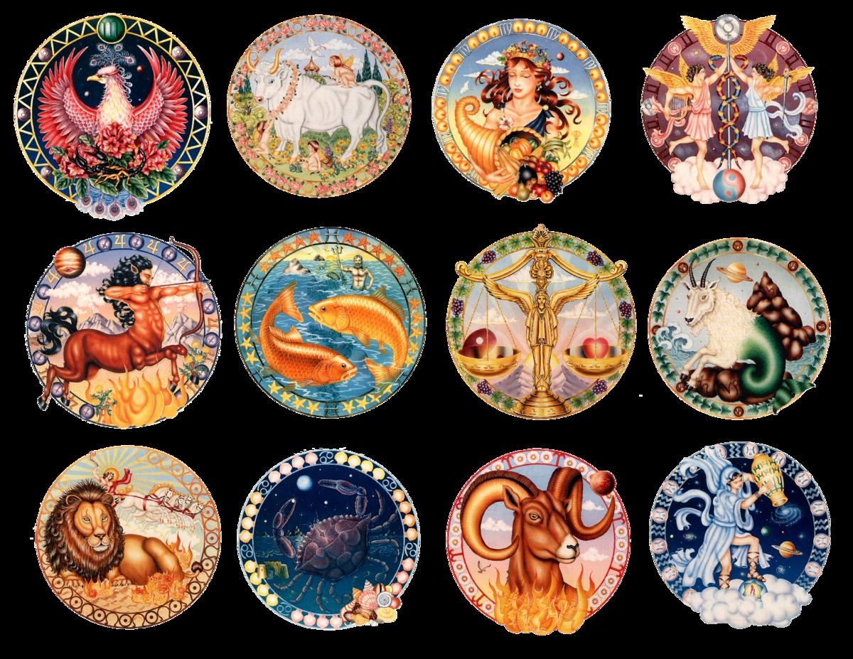 Картинки знак зодиака, днем