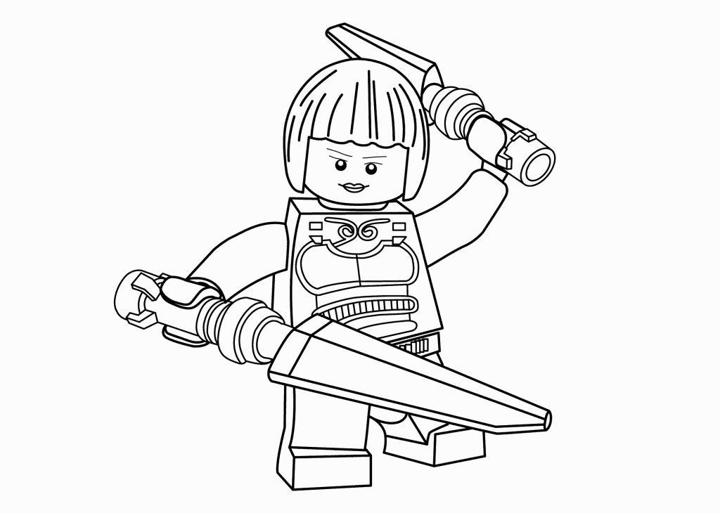 Лего ниндзя го картинки раскраски