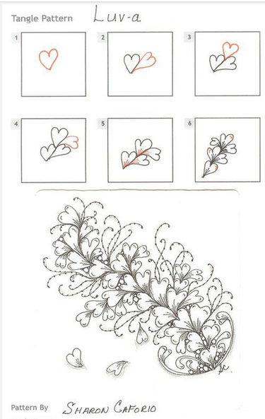 15 карточек в коллекции рисуем узоры простым карандашом