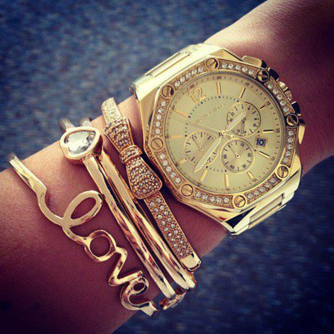 Золотые Часы Женские Фото На Руке