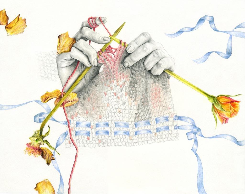 Вязание спицами прикольные картинки