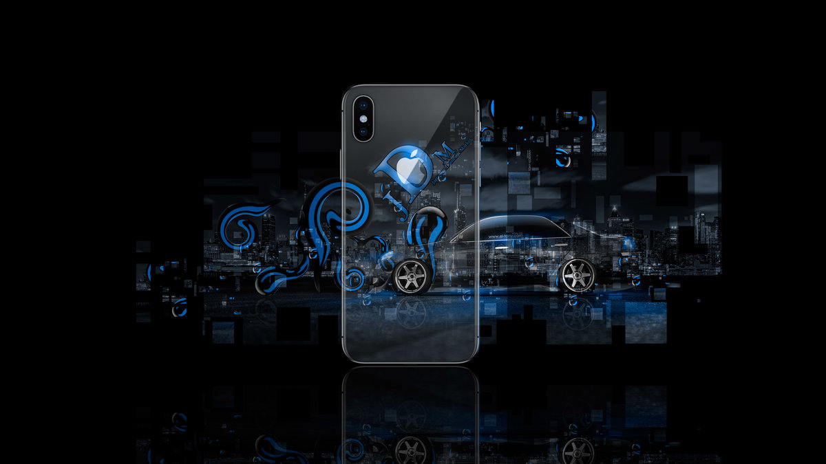 Apple IPhone X AppleTony Back Logo Toyota Mark2