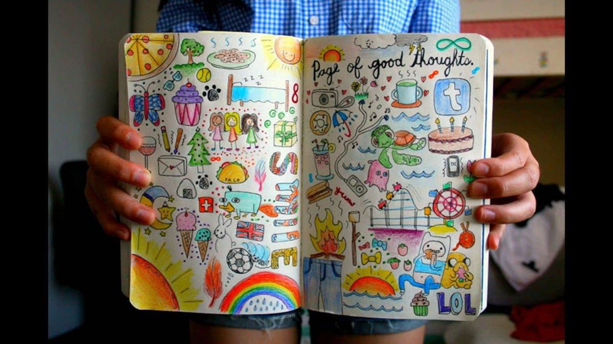 Открыток, прикольные рисунки в личную тетрадь