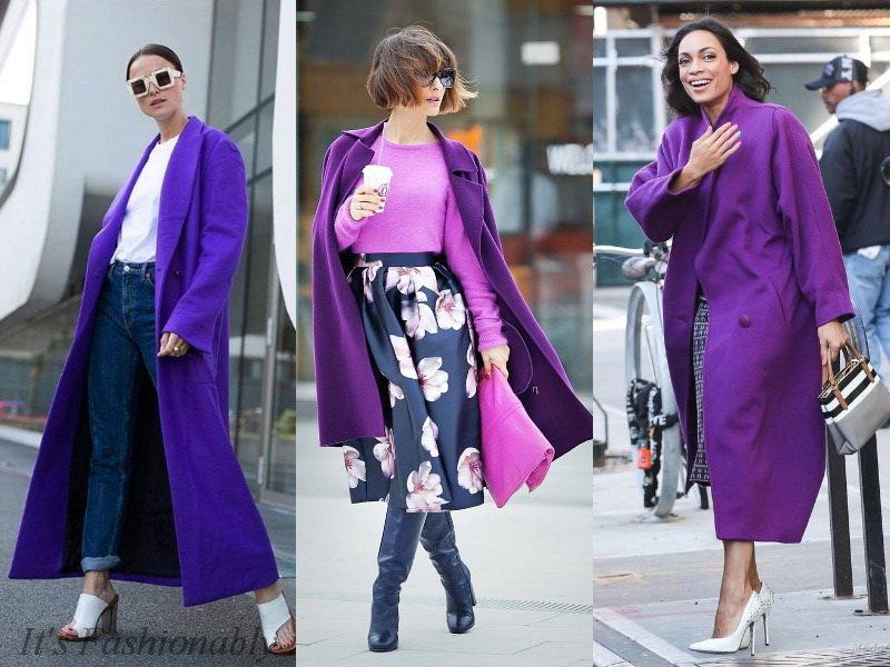 Фиолетовая магия: с чем носить главный цвет года рекомендации