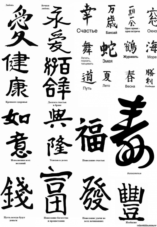 Stupefacente татуировки на руке китайские иероглифы и их значение