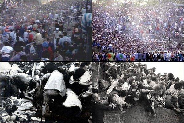 29 мая 1985 года в Брюсселе на стадионе «Эйзель» погибли 39 человек