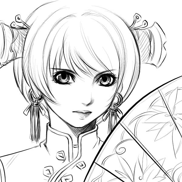 anime line art drawings anime lineart card from user egorov vasya