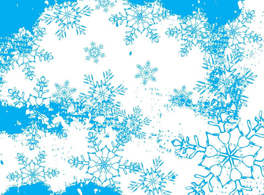 Открытки на новый год со снежинками, картинки минимализм