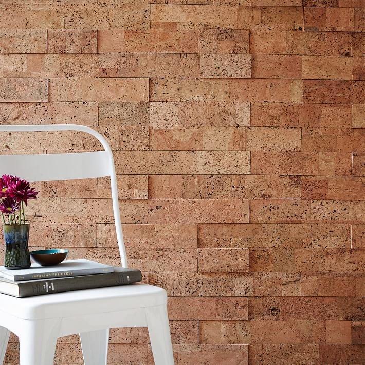 Пробка для стен красивые дизайны