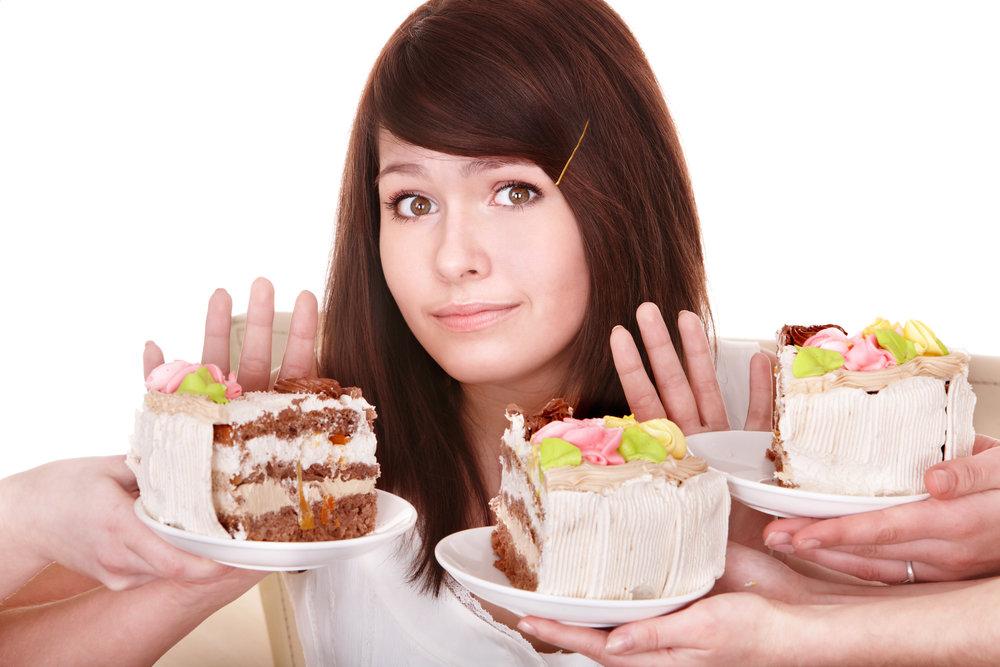 на диете хочется сладкого