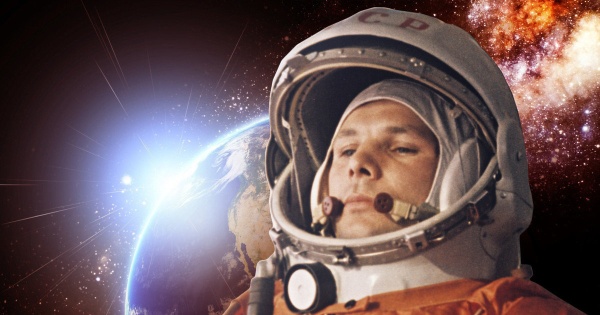 Картинки космос гагарин