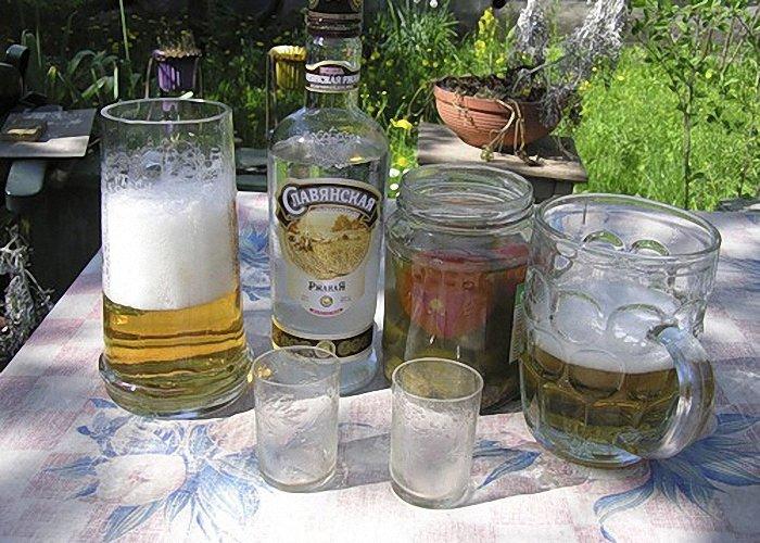 Картинки водки и пива