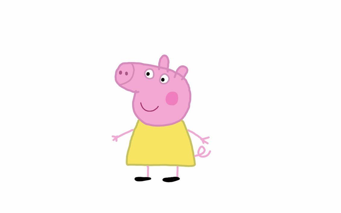 Картинка тетя свинка