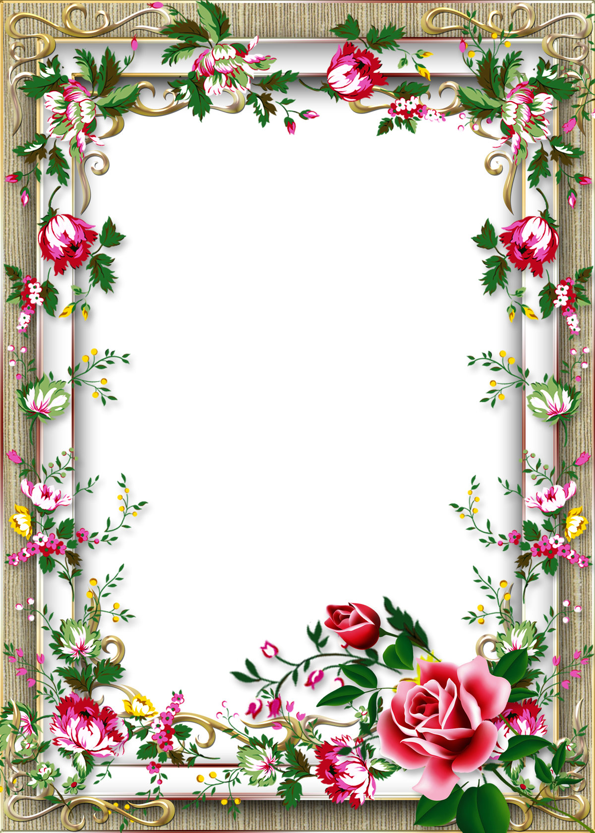 Красивые оформления для открыток, февраля