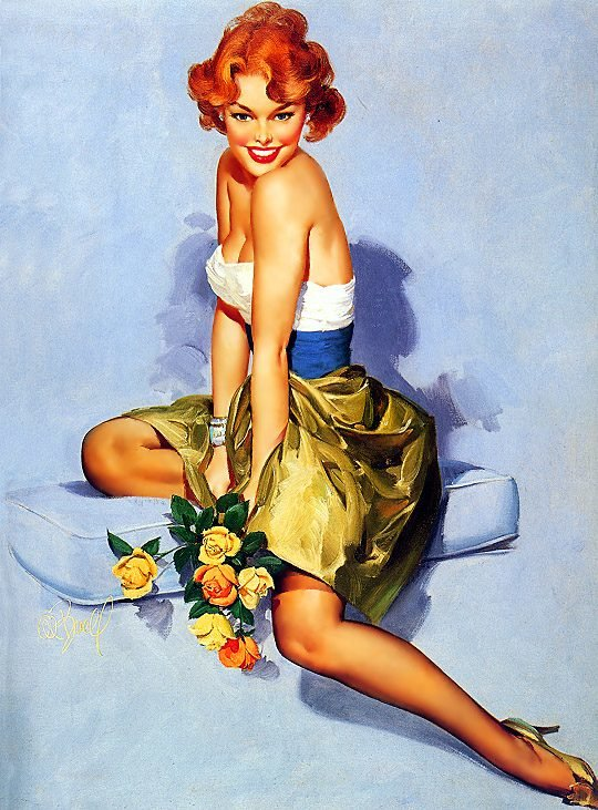Красиво, девушки в открытка