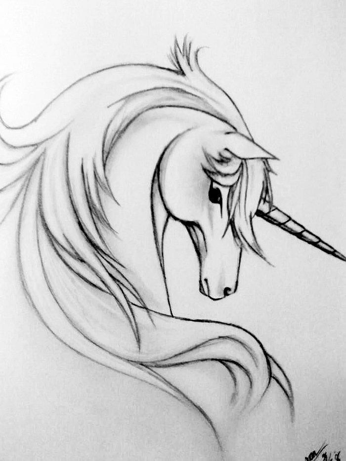 Прикольные рисунки единорогов карандашом