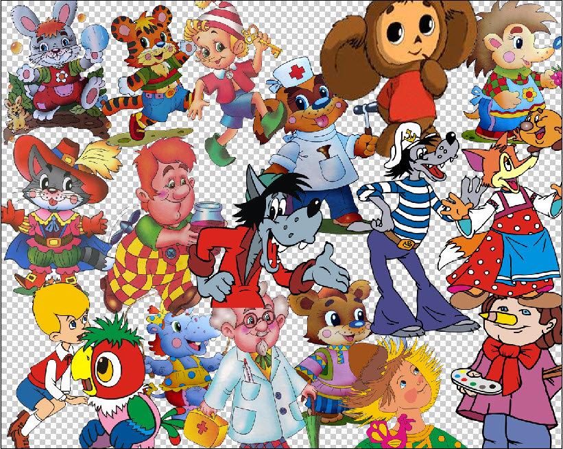 Картинки для малышей из советских мультфильмов