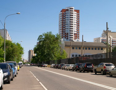 фото улица москва спальный район дорога