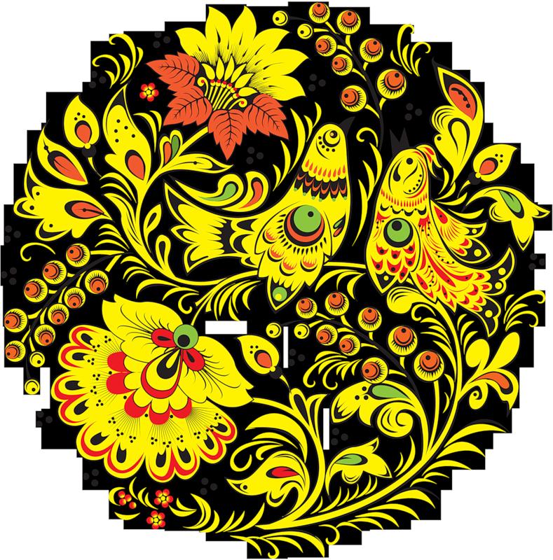 Узоры хохломской росписи картинки