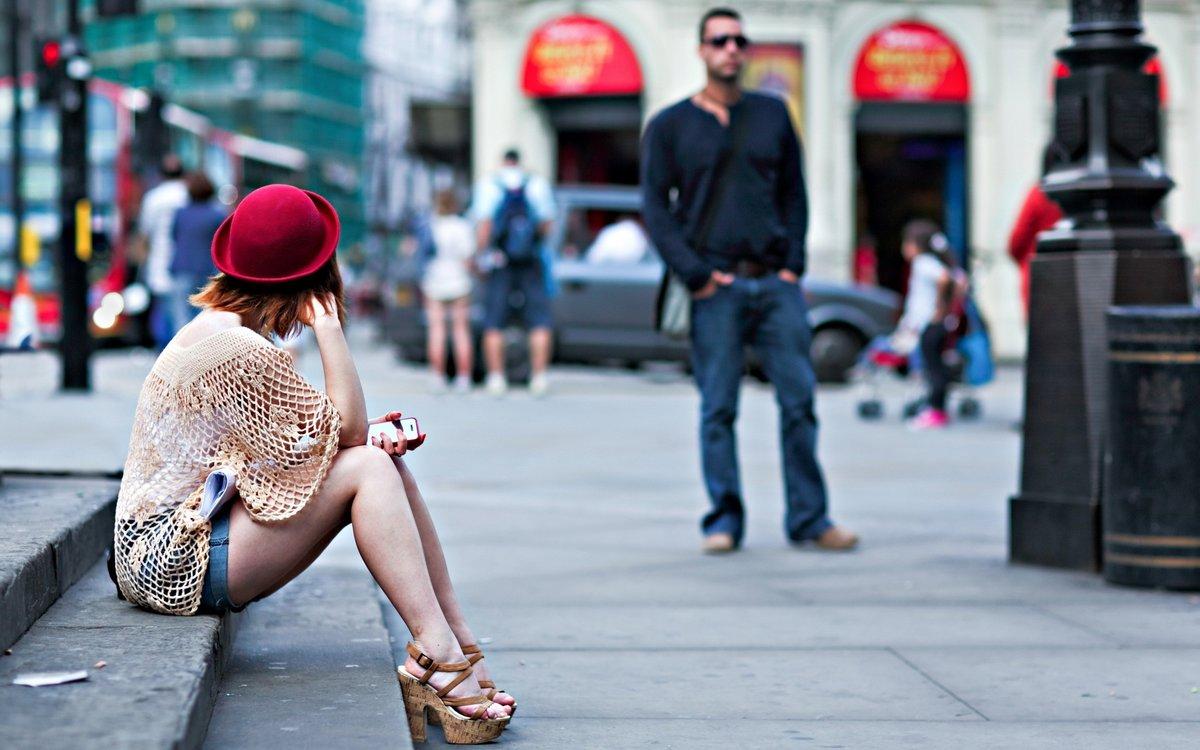 Фото Девушек Сделаные На Улице