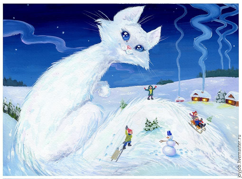 настоящее картинки на тему зимний переполох своей сульфидной иловой