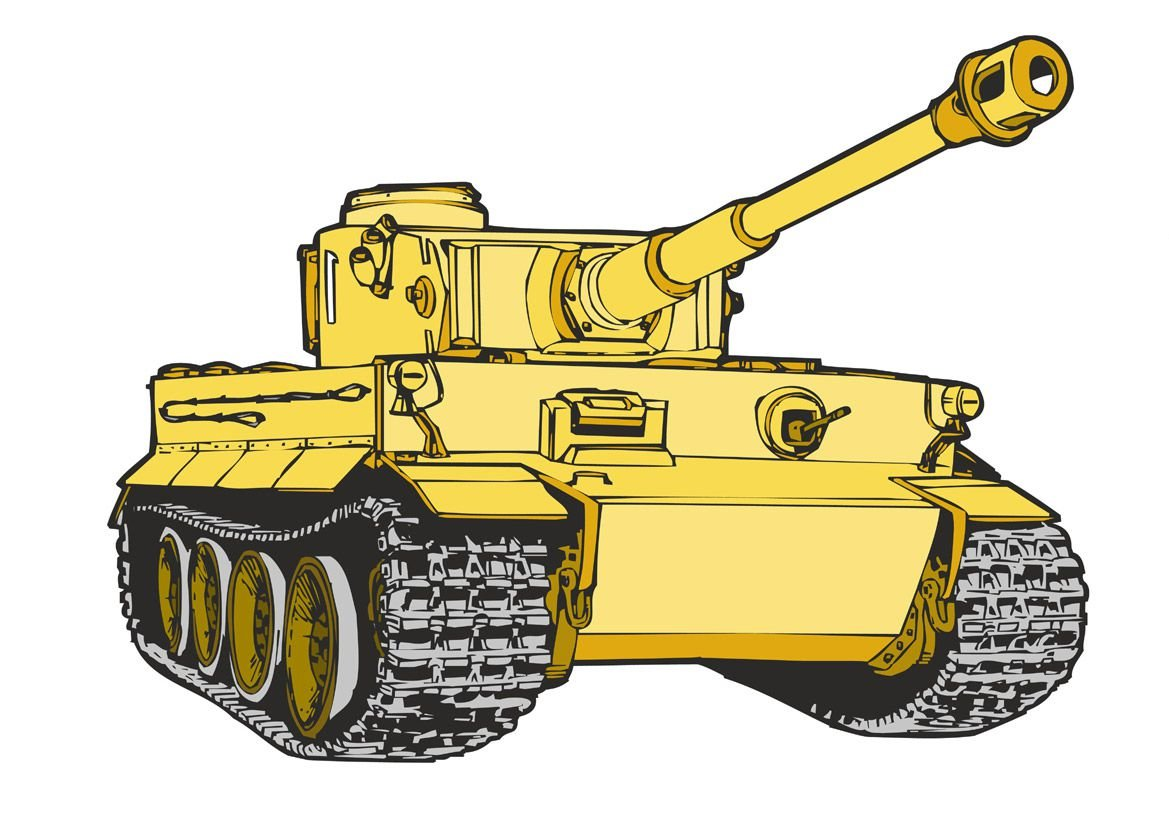 Военная техника рисунки детей