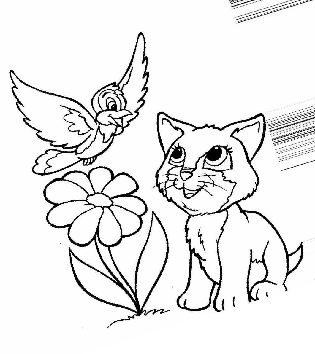 """«Раскраски котята распечатать """" Скачать лучшие картинки ..."""