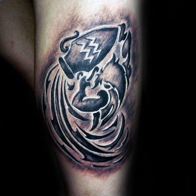 Татуировки водолея картинки