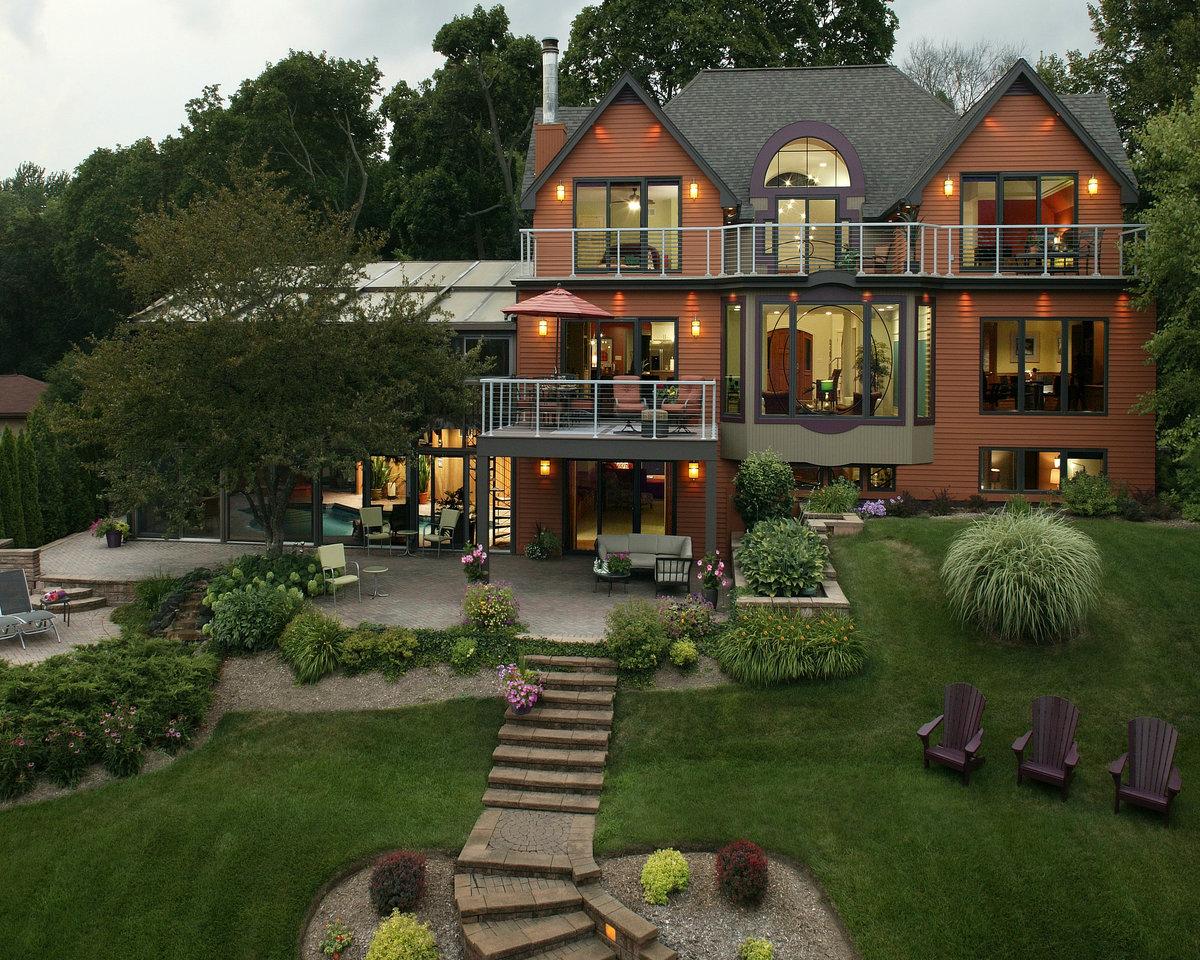 Дом с участком картинка
