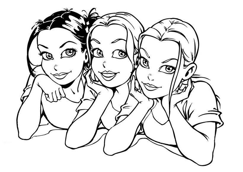 Розмальовки дівчат 8b4e5031b6b9a