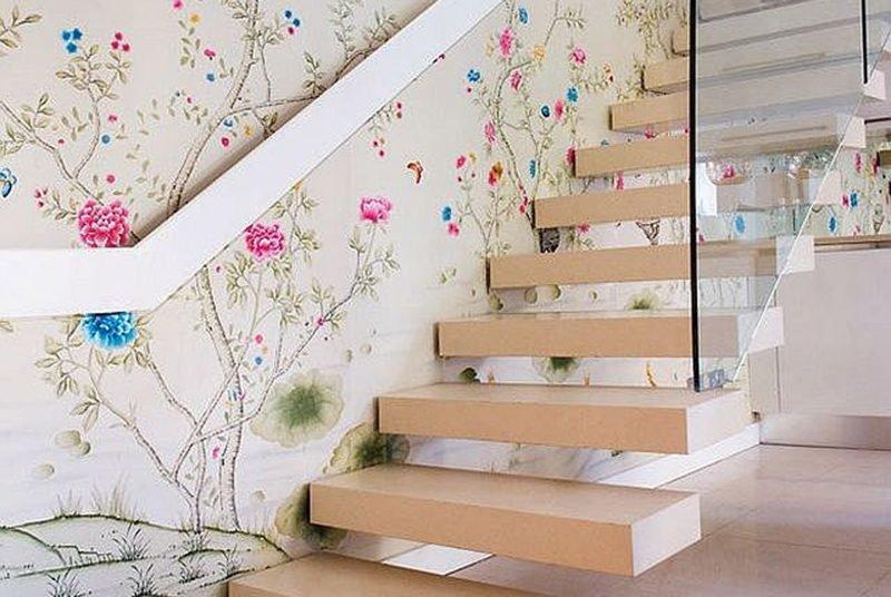 балкон своими оформление лестницы стен фотообои внимание, что