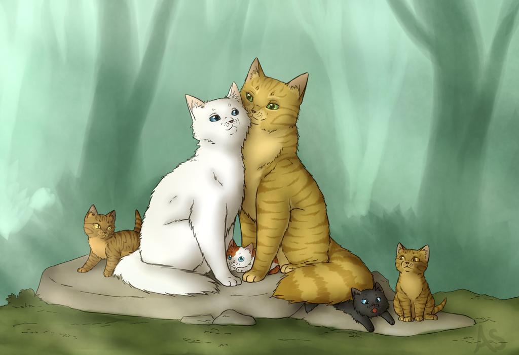 коты воители коты и кошки картинки было