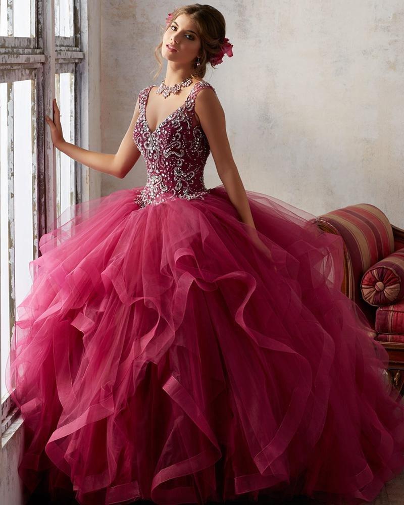 Красивые пышные бальные платья картинки