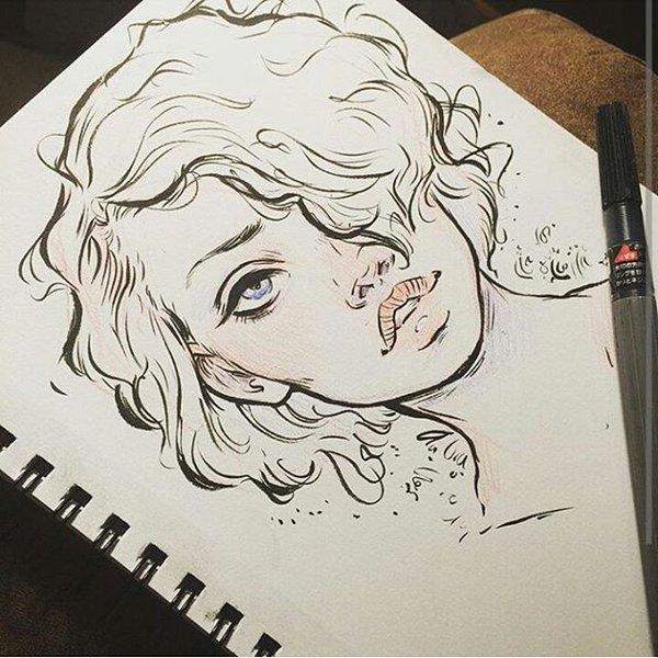 Рисунки для скетчбука карандашом
