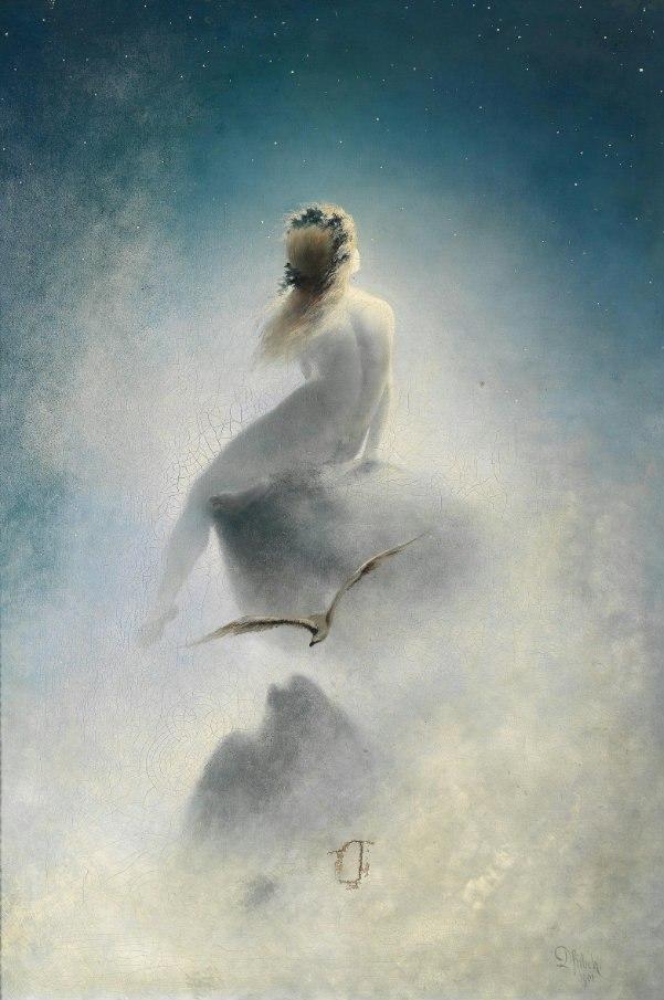 "Карл Вильгельм Дифенбах  ""Вопрос к звёздам"" 1898"