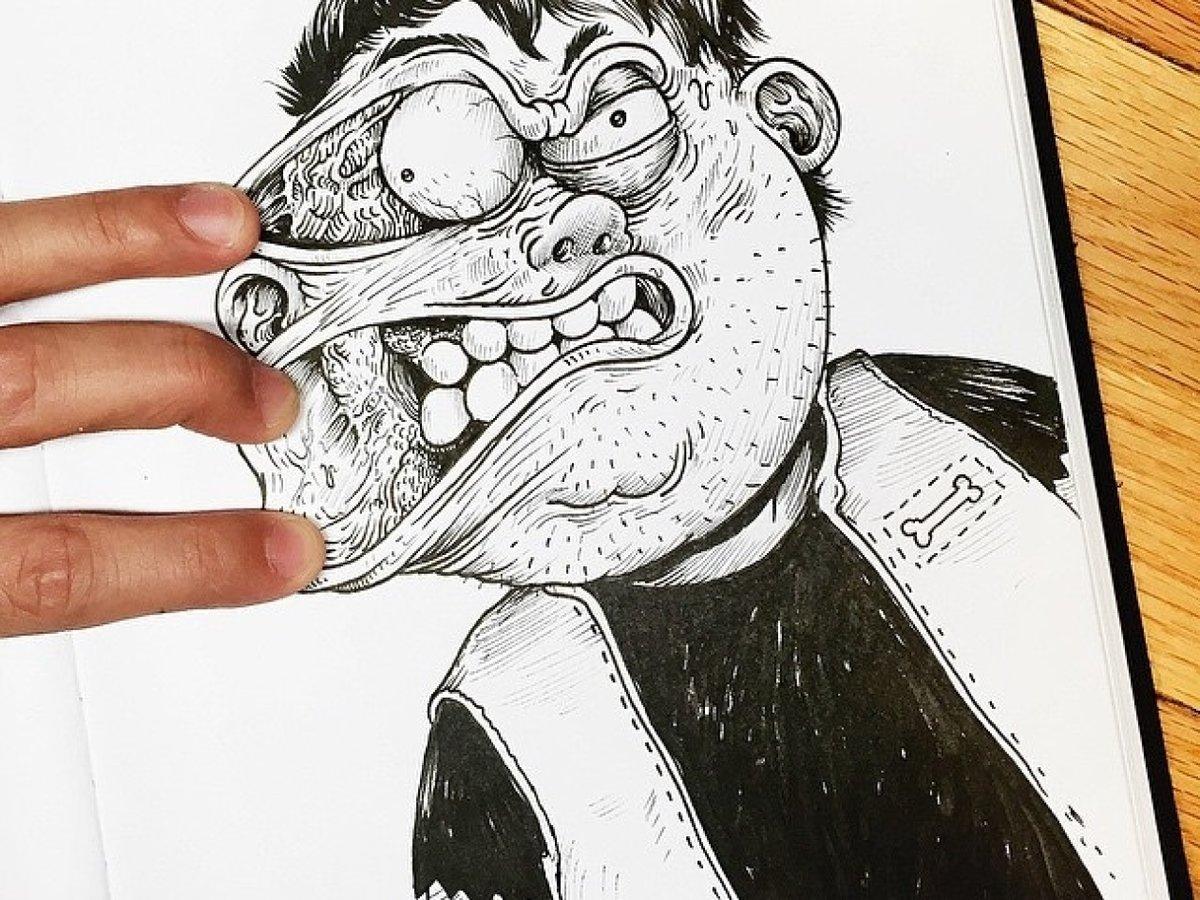 Выходной прикольные, смешные и оригинальные рисунки