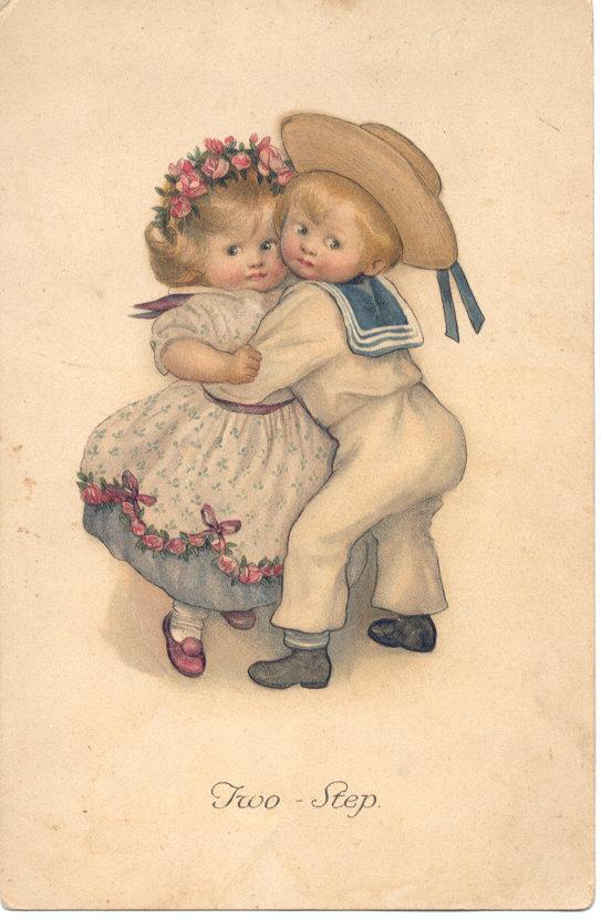 Для, старинные открытки для детей
