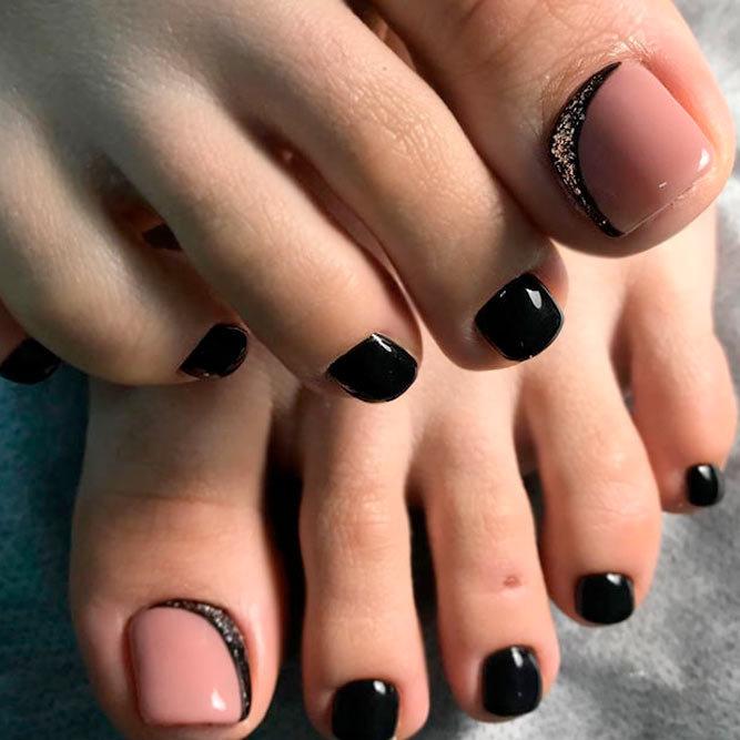 выписки роддома дизайн ногтей на ногах черный фото говоря, даже