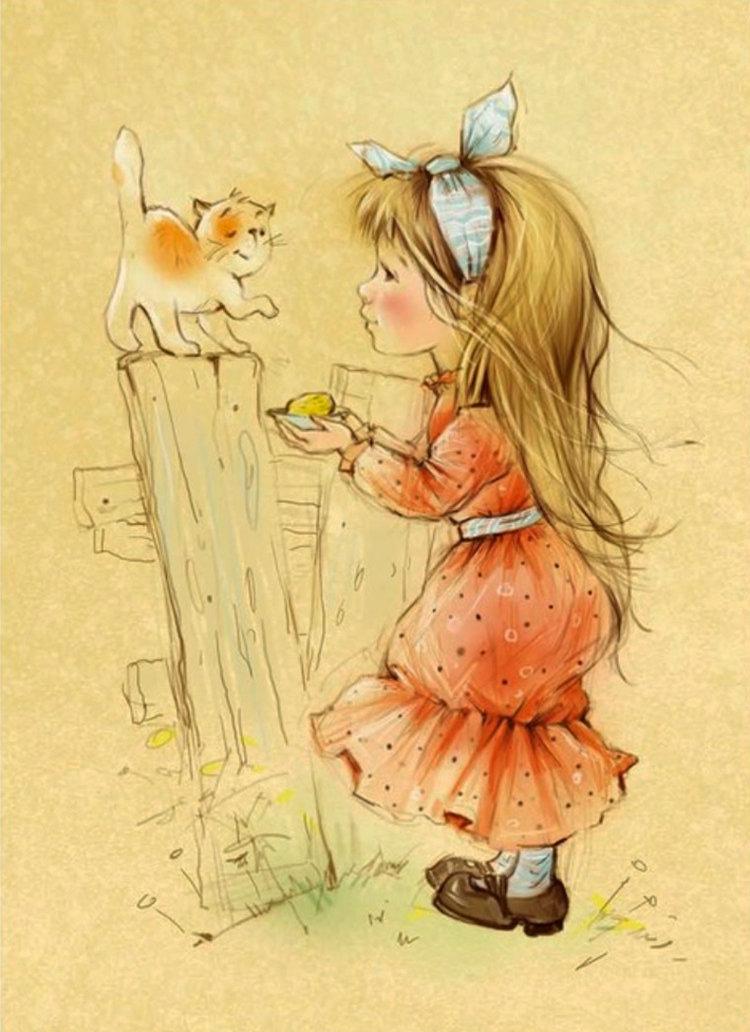 Трогательные милые открытки