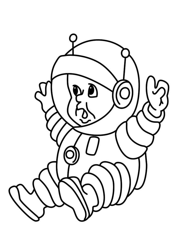 можете космонавт раскраска в космосе ручной клади крупногабаритных