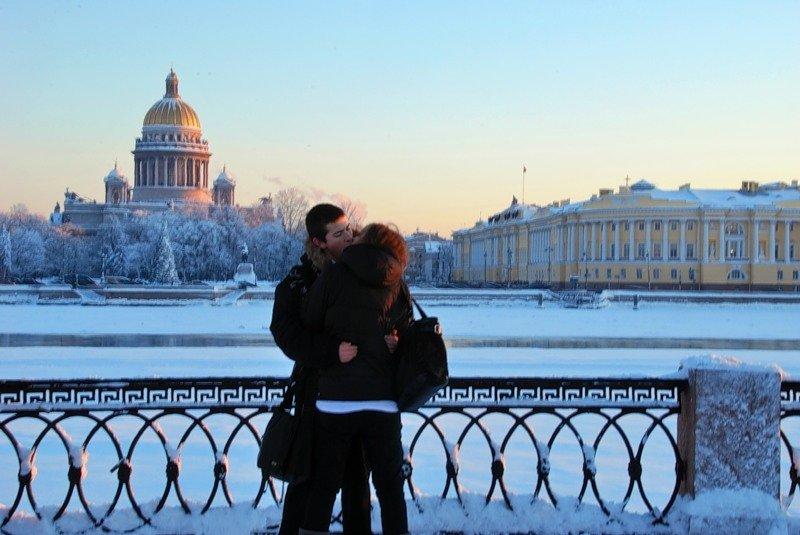 шемякина фото питера зимой с людьми это странное большеглазое